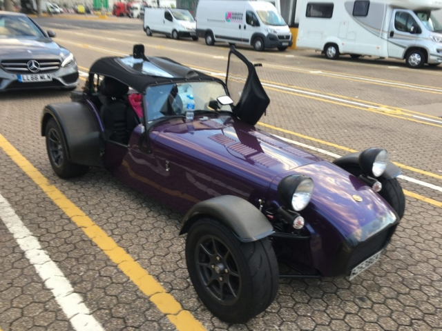 Caterham 7 Supersport Nurburgring Nordschleife