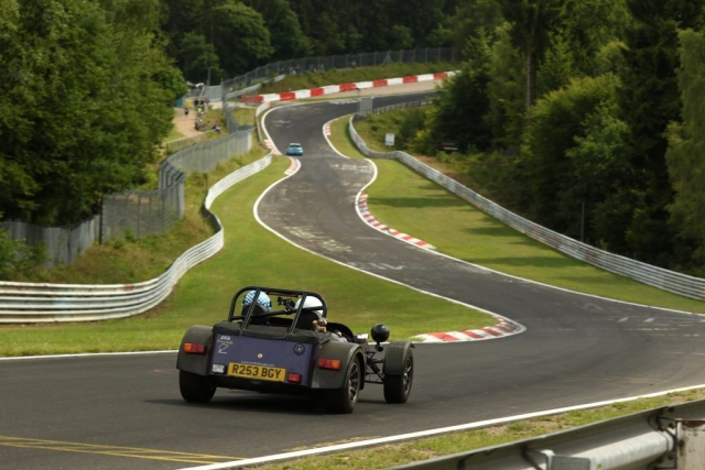Caterham 7 Supersport BMW M3 Nissan Skyline GTR R32 Nurburgring Nordschleife